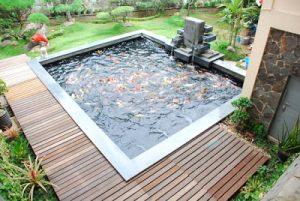 papan penutup kolam